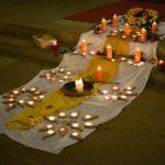 Michaeliskirche in Erfurt beim Candle lighting day 2016